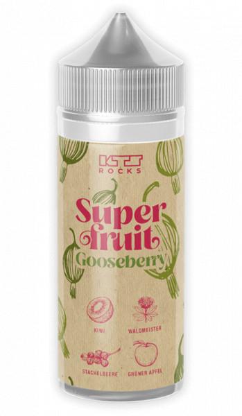 KTS Superfruit Gooseberry Longfill Aroma - Kiwi, Stachelbeeren, Grüner Apfel, Waldmeister, Frische