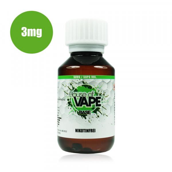 HoV Base 100ml-Flasche 50/50 3mg Nikotin
