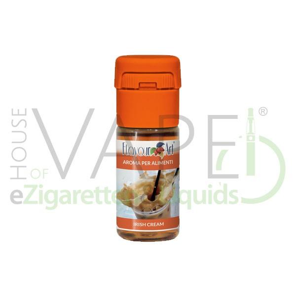 Irish Cream von FlavourArt ♥ Sahnelikör, Whisky, Kaffee ✔ Schneller Versand ✔ 3-5% Dosierung bei 3-57Tag Reifezeit ✔ Ab 50€ Versandkostenfrei ✔