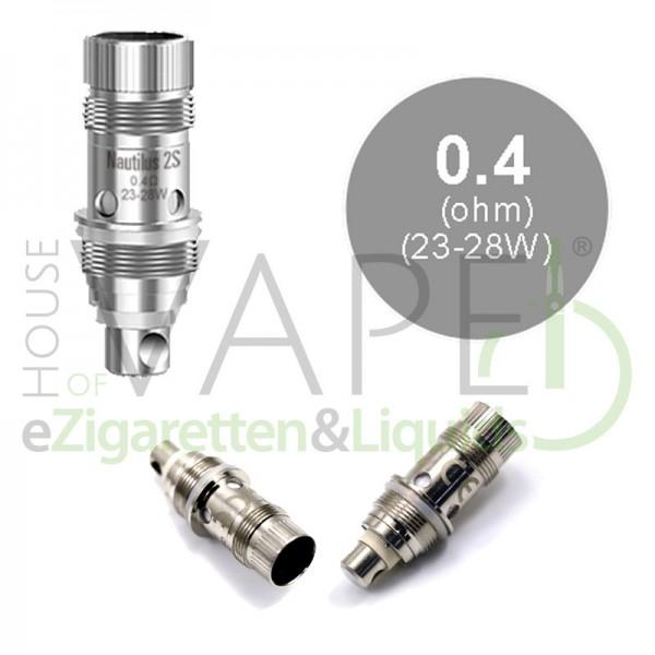 Aspire Nautilus 2S BVC Kerne 0,4 Ohm 5er-Pack