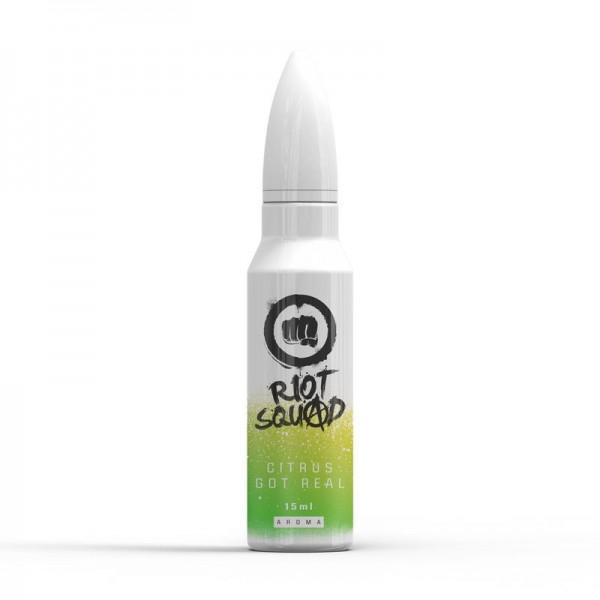 Riot Squad Shots Citrus Got Real ♥ Zitrone, Limette, Limonade, Frische ✔ 15ml Longfill Aroma ✔