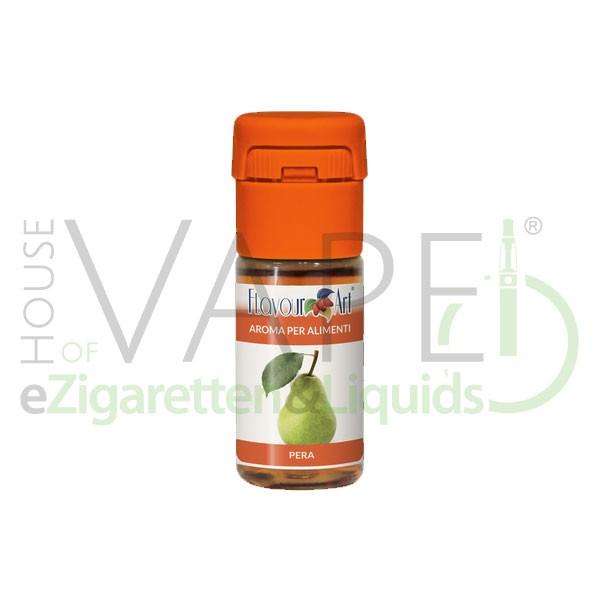Birne von FlavourArt ♥ Fruchtig-süß und reif ✔ Schneller Versand ✔ 2-6% Dosierung bei 2-7 Tag Reifezeit ✔ Ab 50€ Versandkostenfrei ✔