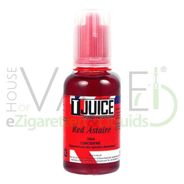 Red Astaire Aroma von T-Juice ♥ Dunkle Beeren, dunkle Traube, Menthol, Eukalyptus, leicht Anis ✔ Auch in unseren Shops ✔ Schneller Versand ✔