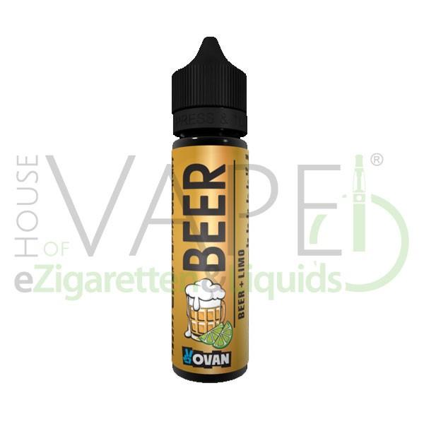 Beer + Limo (Radler) Liquid von Vovan ♥ Craft Beer + Zitronenlimonade ✔ 50ml Shake b4 Vape ✔ Schneller Versand ✔ Auch in unseren Shops ✔