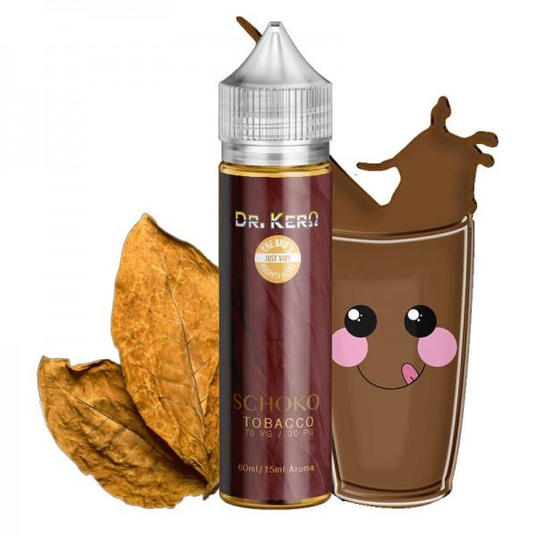 The Bro's & Dr. Kero Schoko Tobacco ♥ 10ml Longfill Aroma in 60ml-Flasche ✔ Tabak mit schöner Schokomilchnote ✔ Einfach mit Base auffüllen ✔ Schneller Versand ✔ ab 50 Euro versandkostenfrei ✔