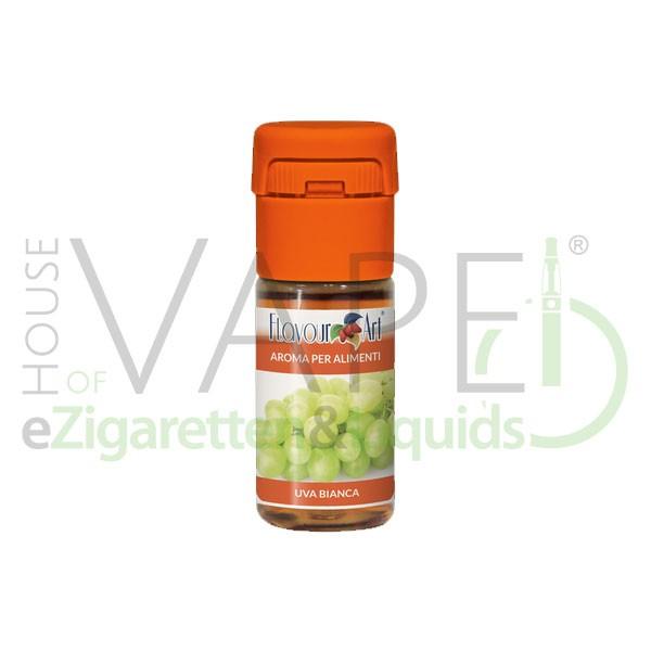 Traube (Hell/Weiß) von FlavourArt ♥ Fruchtig-süß und reif ✔ Schneller Versand ✔ 2-6% Dosierung bei 2-7 Tag Reifezeit ✔ Ab 50€ Versandkostenfrei ✔
