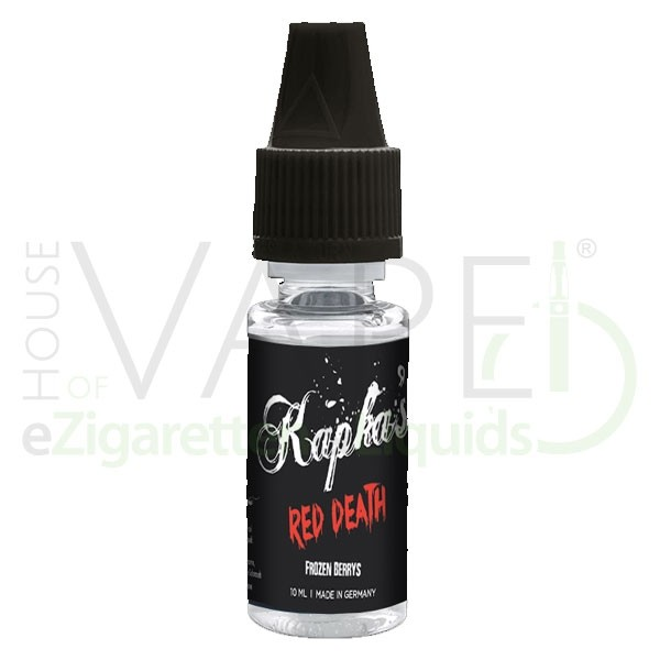 Red Death Aroma von Kapkas ♥ Himbeere, Erdbeere, Koolada ✔ 13-19% ✔ 10ml ✔ Auch in unseren Shops ✔ Schneller Versand ✔