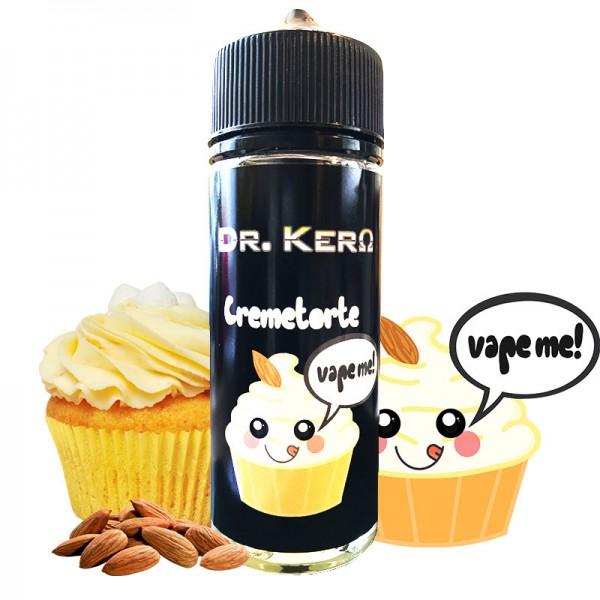 Dr. Kero Cremetorte ♥ 100ml Shortfill ✔ Cupcake, Mandeln, Honig ✔ In unseren Shops erhältlich ✔