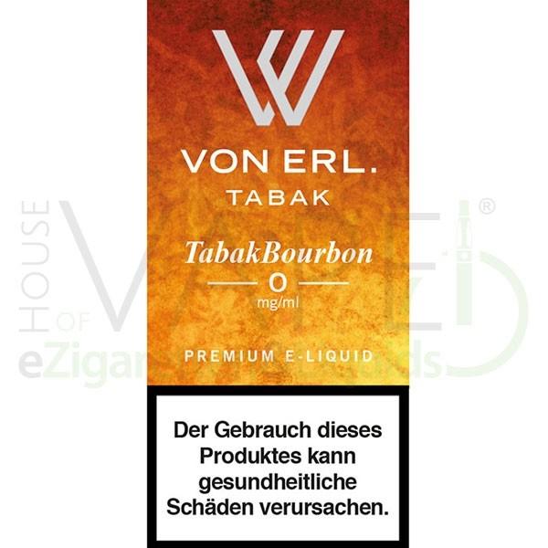 Tabak Bourbon Liquid von Von Erl/My Blue ♥ Süßer Tabak ✔ TOP Preis ✔ Schneller Versand ✔ Günstig bestellen ✔