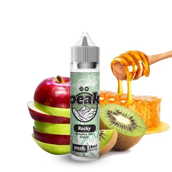 Rocky Aroma von Peak ♥ Apfel, Kiwi, Honig ✔ Auch in unseren Shops ✔ Schneller Versand ✔ Einfache Dosierung ✔