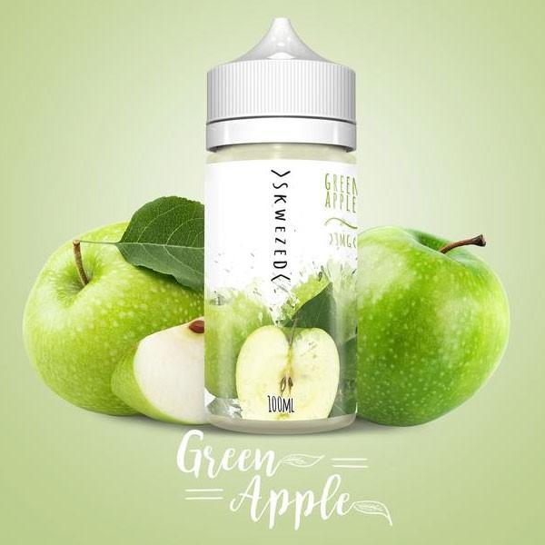 Green Apple Liquid von Skwezed ♥ 2x50ml Shortfill ✔ Einfach Grüner Apfel! ✔ Schneller Versand ✔ ab 50 Euro versandkostenfrei ✔ Jetzt in unseren Shops testen