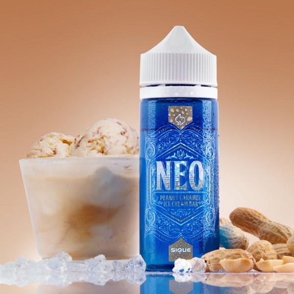 NEO Liquid von Sique ♥ 100ml Shake b4 Vape ✔ Snickers Eis ✔ Schneller Versand ✔ Auch in unseren Ladengeschäften ✔