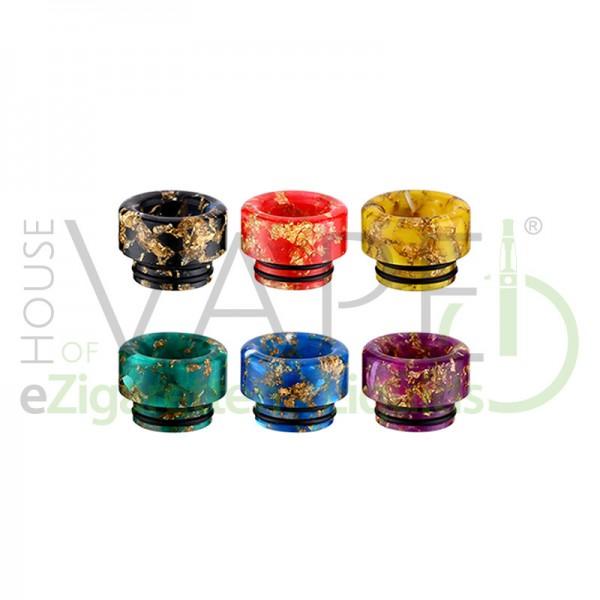 Resin 810 DripTip (Mundstück) R1 ♥ 810er Anschluß ✔ 2 O-Ringe für festen Halt ✔ Aus robusten Epoxidharz ✔ Auch in unseren Shops verfügbar ✔