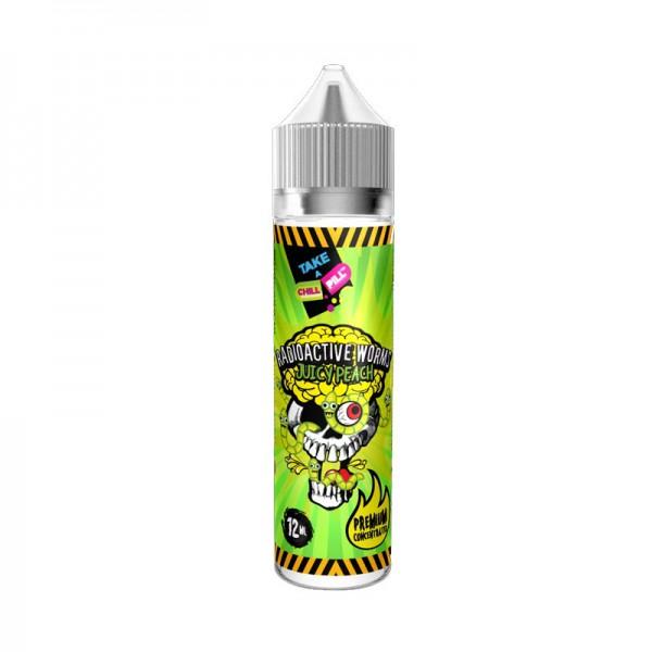 Chill Pill Radioactive Worms Juicy Peach Aroma ♥ Saure Würmer mit Pfirsich ✔ Longfill: Einfache Dosierung ✔ Schneller Versand ✔ Auch in unseren Shops ✔