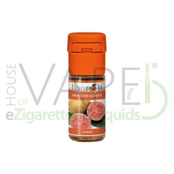 Guave  von FlavourArt ♥ Fruchtig-süß und leicht säuerlich ✔ Schneller Versand ✔ 2-5% Dosierung bei 2-5 Tag Reifezeit ✔ Ab 50€ Versandkostenfrei ✔