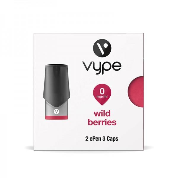 Vype ePen 3 Caps Wild Berries Nikotinfrei 2er Pack