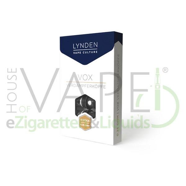 LYNDEN VOX Coils 5er-Pack