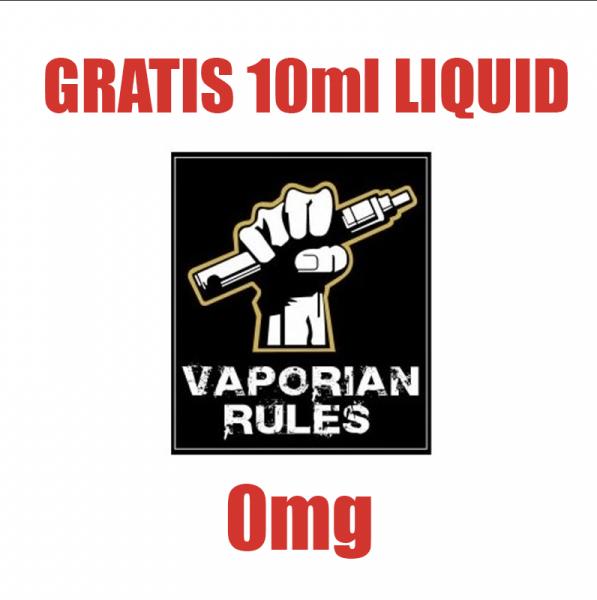 Prämienartikel 10ml Vaporian Rules Liquid (0mg)
