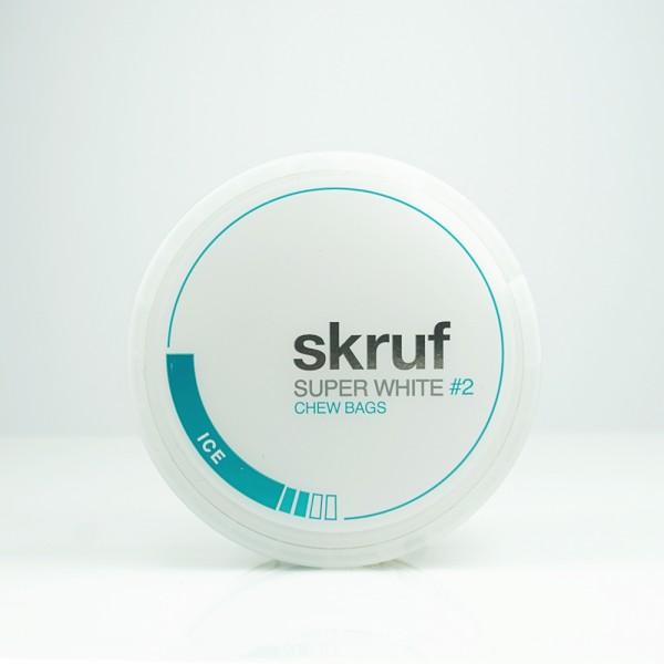 Skruf Kautabak Super White Ice #2