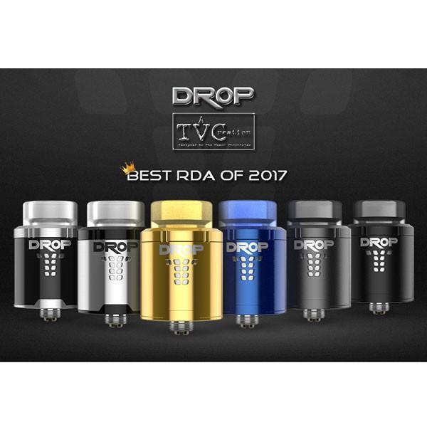 Drop RDA von DigiFlavor ♥ TOP Tröpfler 2017 ✔ Single- bis Dual-Coil-Deck ✔ Sqounker-PIN ✔ Schneller Versand ✔