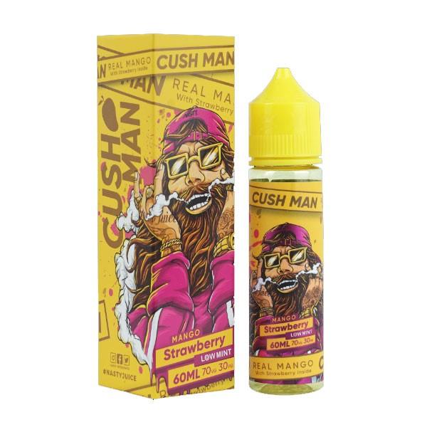 Cush Man Mango Strawberry Liquid von Nasty Juice ♥ Shortfill ✔ Mango, Erdbeere, leichte Minze ✔ In unseren Shops testen ✔