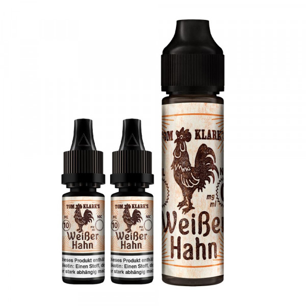 Tom Klark's Weißer Hahn Liquid 6mg