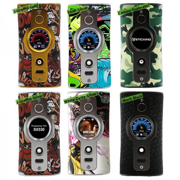 VK530 Box Mod von VSticking ♥ Yihi SX530 Chipsatz ✔ Bis zu 200 Watt, TC, TCR ✔ TFT IPS Farbdisplay ✔ 3 Flavor Modi ✔ Kostenloser Versand ✔ Auch in unseren eZigaretten Geschäften ✔