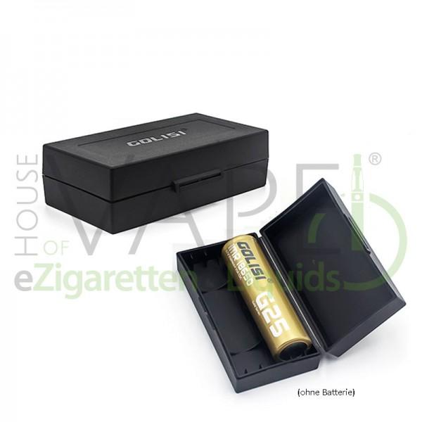 Akku Box für 2x18650 ♥ Sichere Aufbewahrung und Transport von Batterien ✔ Stabile, hohe Qualität ✔