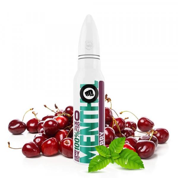 Riot Squad 100% Menthol Cherry Shortfill