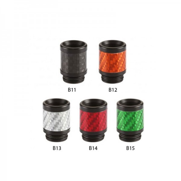 Resin Carbon Fiber DripTip (Mundstück) ♥ 810er Anschluß ✔ Aus Resin und Carbonfaser ✔ Verschiedene Farben ✔ Auch in unseren Shops verfügbar ✔ Schneller Versand ✔