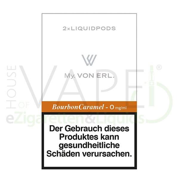 Bourbon Caramel LiquidPOD ♥ Passen in MY Von Erl und My Blue ✔ TOP Preis ✔ Schneller Versand ✔ Günstig bestellen ✔