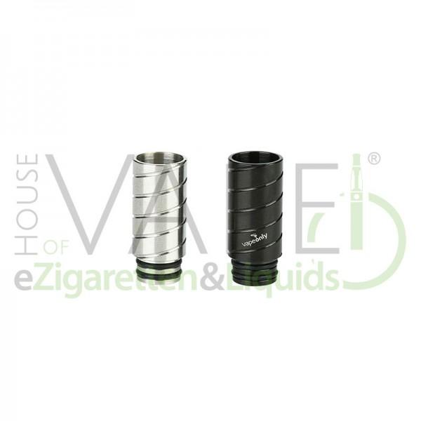 VapeOnly 510 DripTip (Mundstück) V1 ♥ 510er Anschluß ✔ 2 O-Ringe für festen Halt ✔ Auch in unseren Shops verfügbar ✔