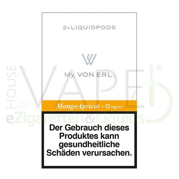 Mango Apricot LiquidPOD ♥ Passen in MY Von Erl und My Blue ✔ TOP Preis ✔ Schneller Versand ✔ Günstig bestellen ✔