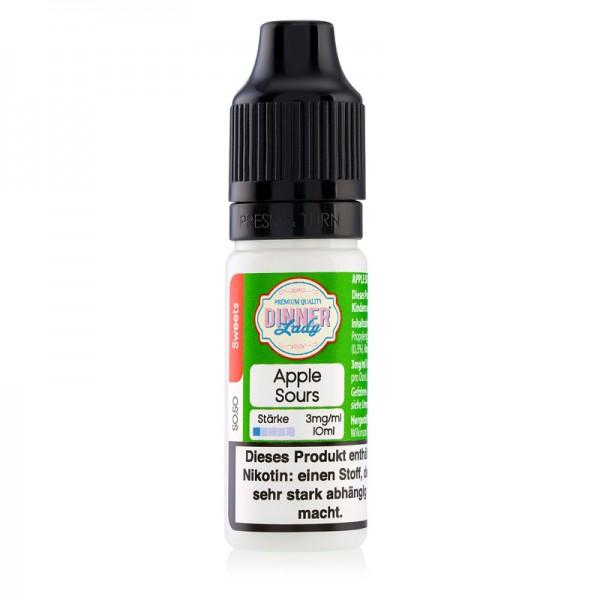 DinnerLady Apple Sours ♥ Süß-saure Apfelringe ✔ 10ml mit 3,6 oder 12mg Nikotin ✔