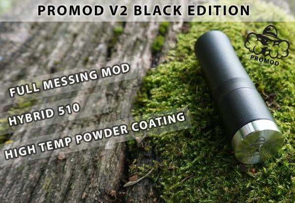 ProMod V2 Mech Tube von ProMod Germany ♥ Mech Mod Made in Germany ✔ Hochwertiger Mech Mod ✔ Für 1x 18650 ✔ Kostenloser Versand ✔ Auch in unseren Shops ✔