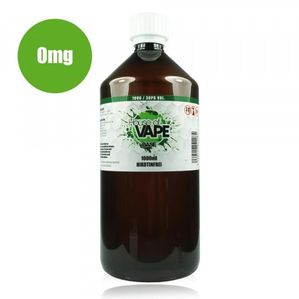 HoV Base 1000ml-Flasche 70/30 Nikotinfrei