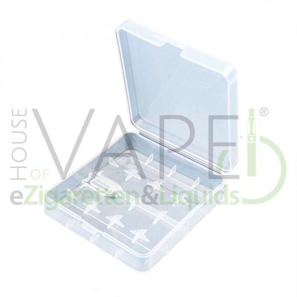 Akku Box 4x18650 oder 2x26650 ♥ Sichere Aufbewahrung und Transport von Batterien ✔ Transparent ✔ Auch in unseren Shops ✔