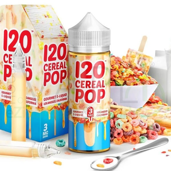Mad Hatter 120 Cereal Pop Liquid
