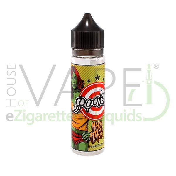 Mars Attck Liquid von Roofy's ♥ Roter Beerenmix mit Menthol ✔ 50ml Shake b4 Vape ✔ Schneller Versand ✔ In unseren Shops testen ✔