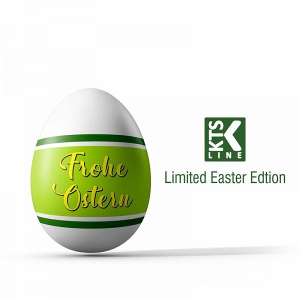 KTS Line Limited Easter Edition Osterei ♥ Inkl. KTS White Liquid 50ml sowie 3x 10ml ✔ Shortfill ✔ Limitierte Edition speziell für Ostern 2019 ✔ Schneller Versand ✔ Auch in unseren Shops verfügbar ✔