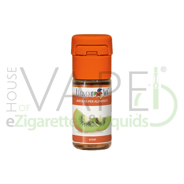 Kiwi von FlavourArt ♥ Fruchtig-süß und leicht säuerlich ✔ Schneller Versand ✔ 2-6% Dosierung bei 2-5 Tag Reifezeit ✔ Ab 50€ Versandkostenfrei ✔