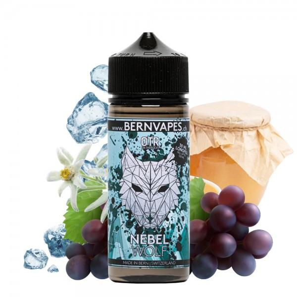 Bernvapes Bergtiere Nebel Wolf OTR Longfill Aroma - Apfelmus, Traube, Edelweiss, Frische - Neu bei House of Vape!
