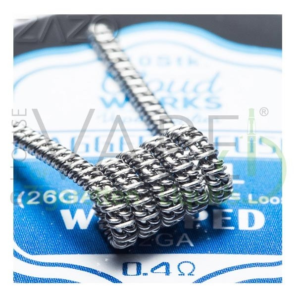 Cloudworks Staggered Fused Coils 10x