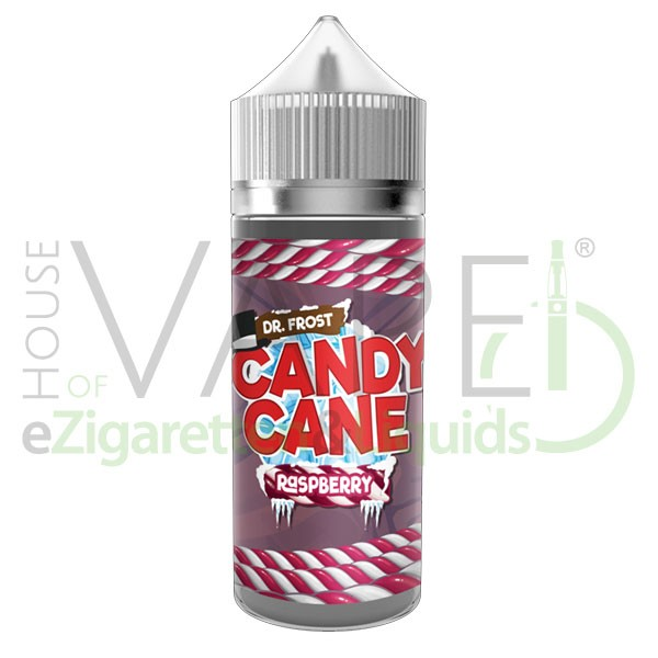 Candy Mints Raspberry Liquid von Dr. Frost ♥ 100ml Shortfill ✔ Kaugummi, Himbeere, Minze, Koolada ✔