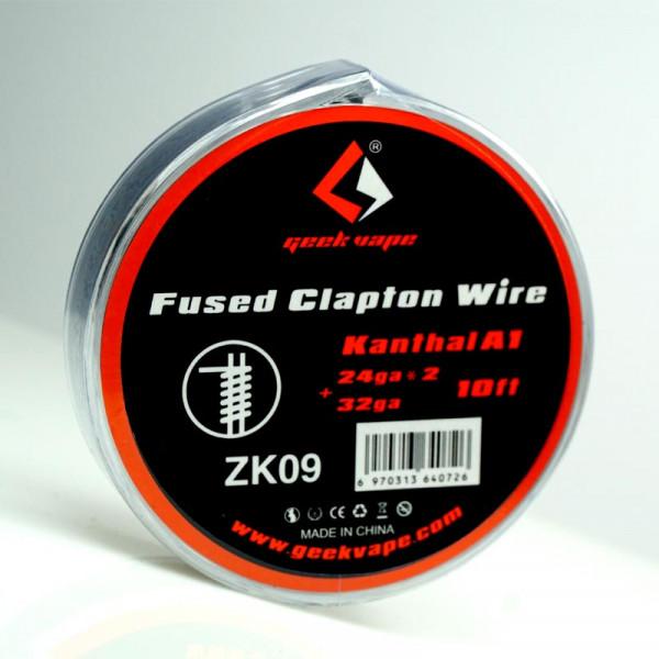 Clapton Kanthal A1 Fused Clapton Wire von Geekvape