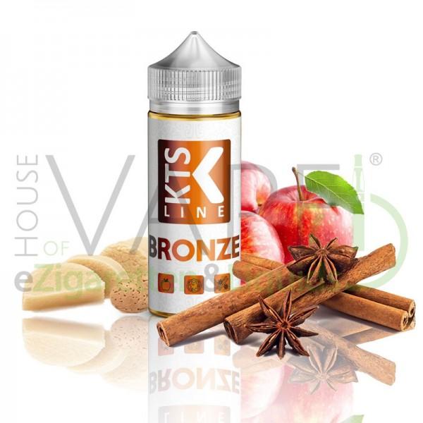 Bronze Aroma von KTS ♥ Apfel, Zimt, Marzipan ✔ Longfill ✔ 30ml Aroma ✔ In der 120ml Chubby Flasche ✔