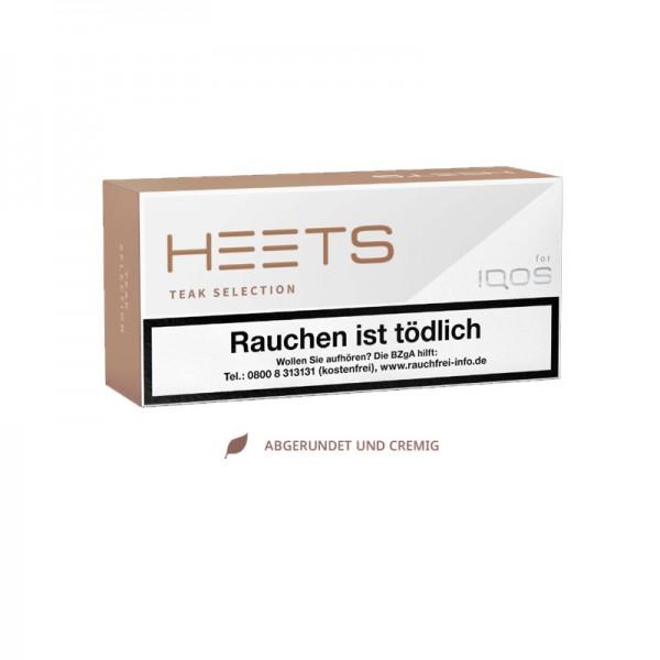 IQOS Heets Tabaksticks Teak Selection
