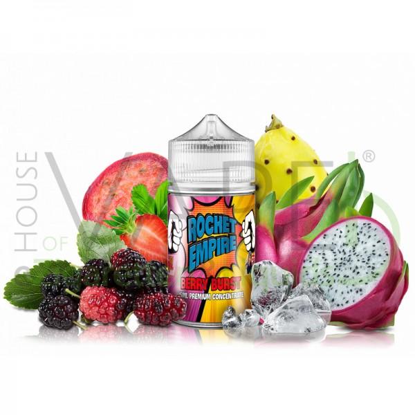 Berry Burst von Rocket Empire  ♥ Loganbeere, Erdbeere, Kaktusfeige, Drachenfrucht, Koolada ✔