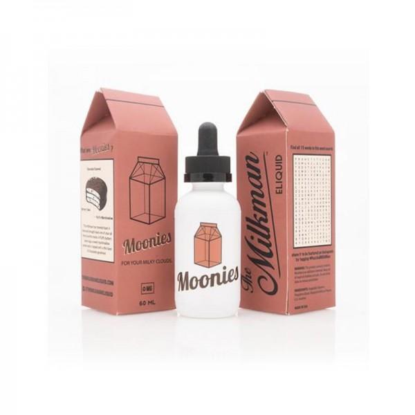 The Milkman Moonies♥ The Vaping Rabbit ✔ 50ml Shortfill ✔ Vanillekuchen mit Marshmellow-Creme und Schokolade ✔