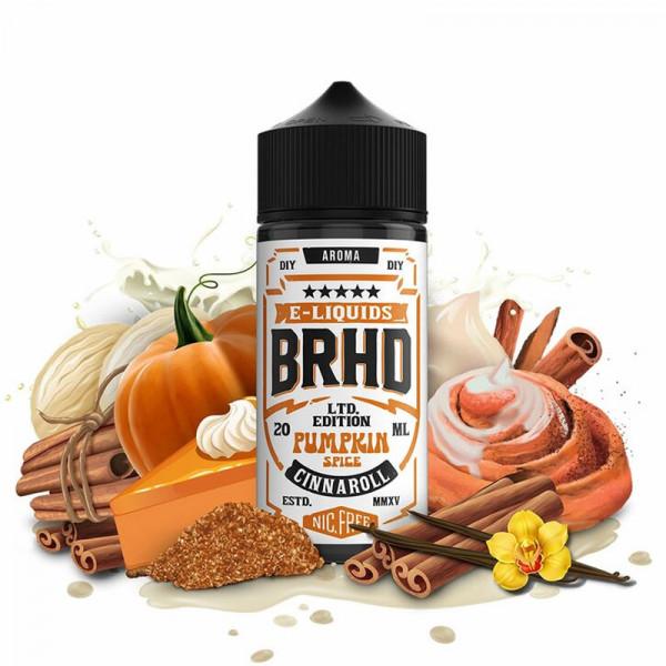 BRHD Barehead Pumpkin Spice Cinnaroll Longfill Aroma